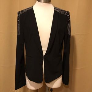 """BCBG """"Bowie"""" Embroidered Jacket New w/Tags"""